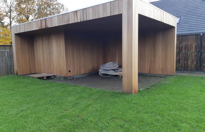 Tuinhuis modern cubic
