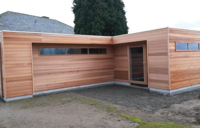 Tuinhuis modern - cubic
